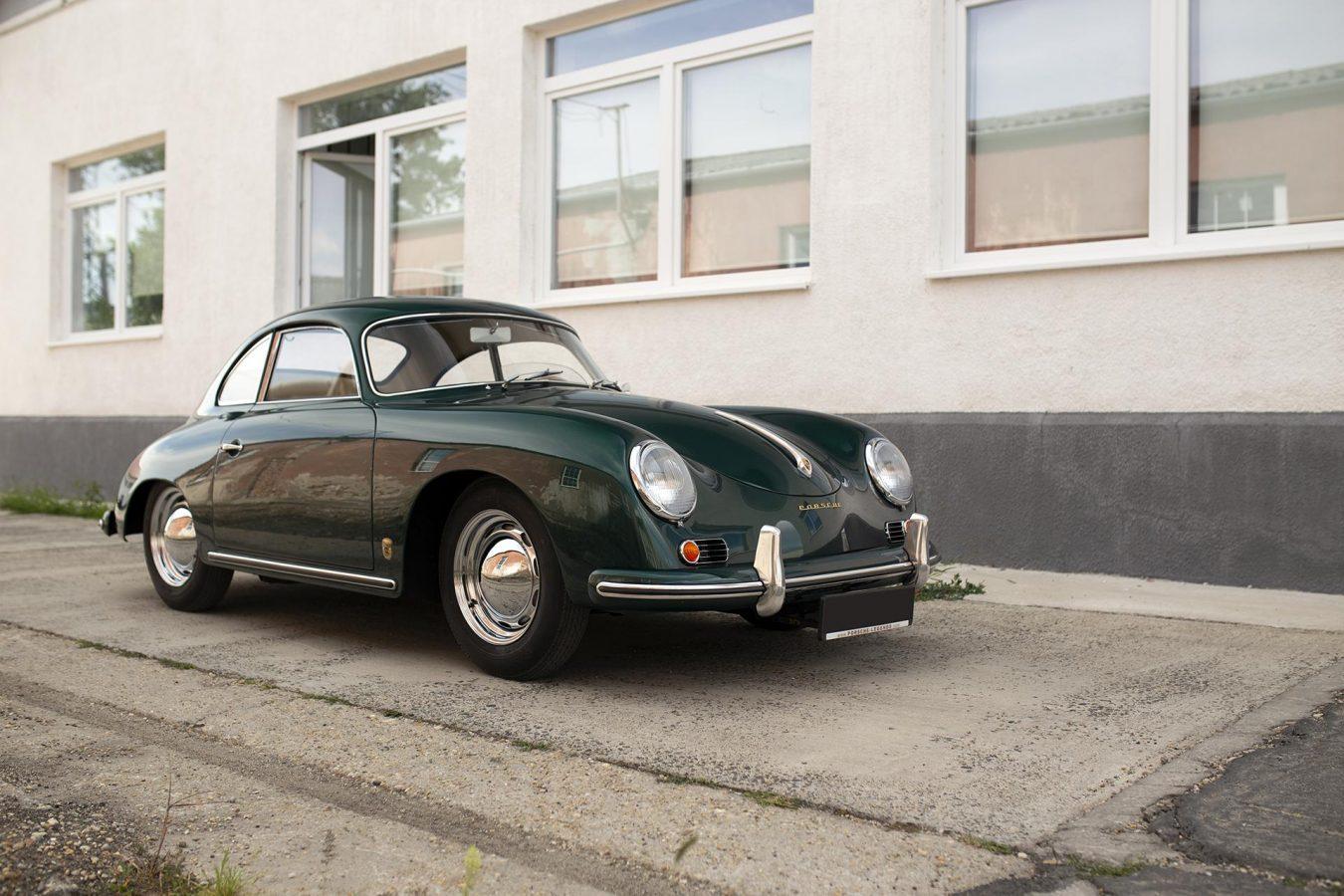 Porsche 356A von vorne