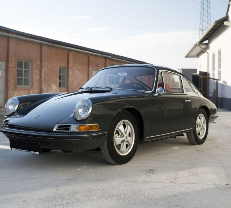 Porsche 911S auf Vehicle Experts Gelände