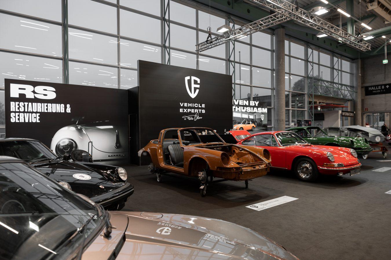 Porsche Ausstellung CLASSIC EXPO Salzburg 2018