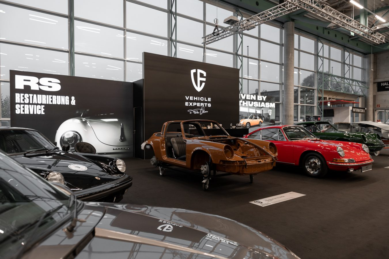 Vehicle Experts Ausstellung