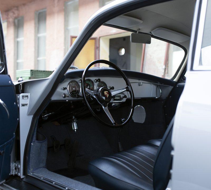 Porsche 356 BT5 Innenraum