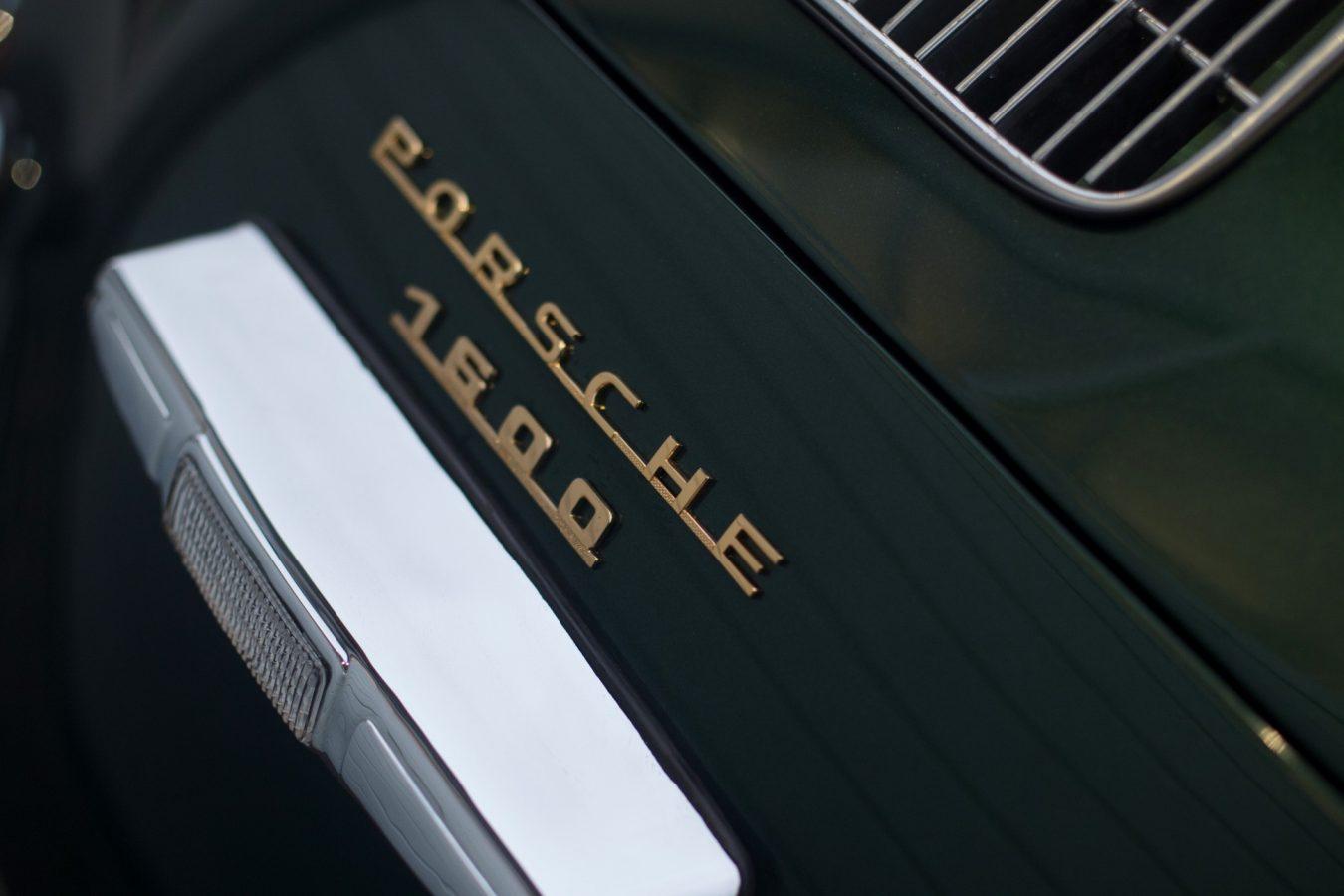 Porsche 356A Schriftzug