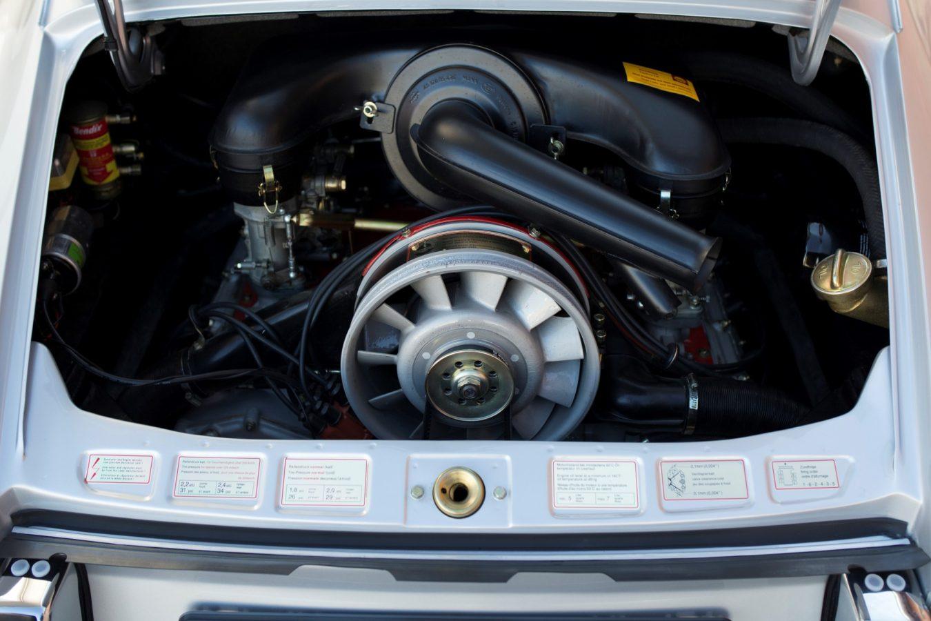 Motor eines Porsche 911S SWB