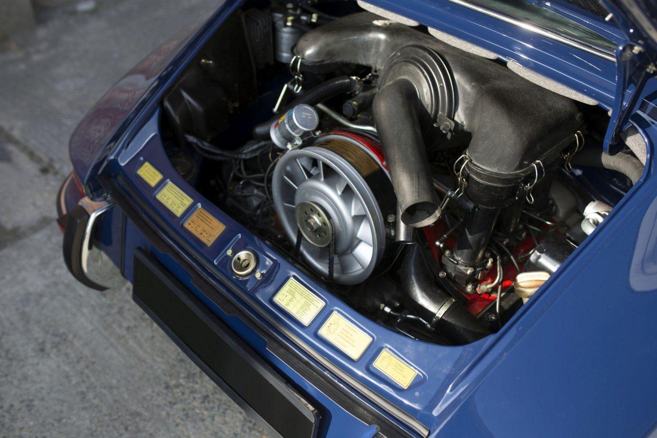 Porsche 911S Targa Motor