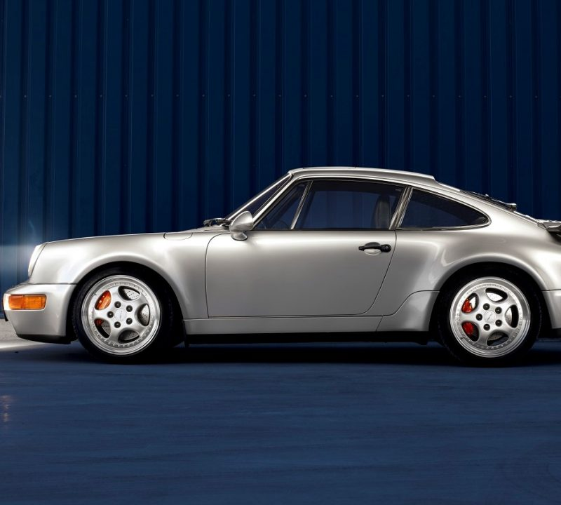 Porsche 964 3,6 Turbo in Silbergrau