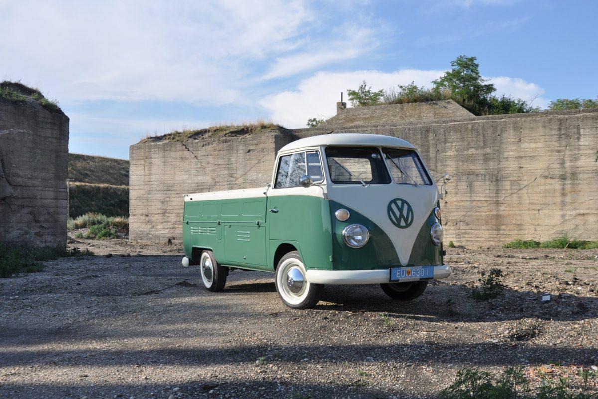 Volkswagen T1 Pritsche von vorne