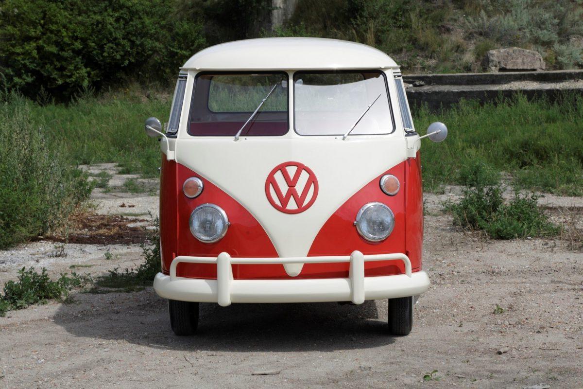 Volkswagen T1 Pritsche DOKA von vorne