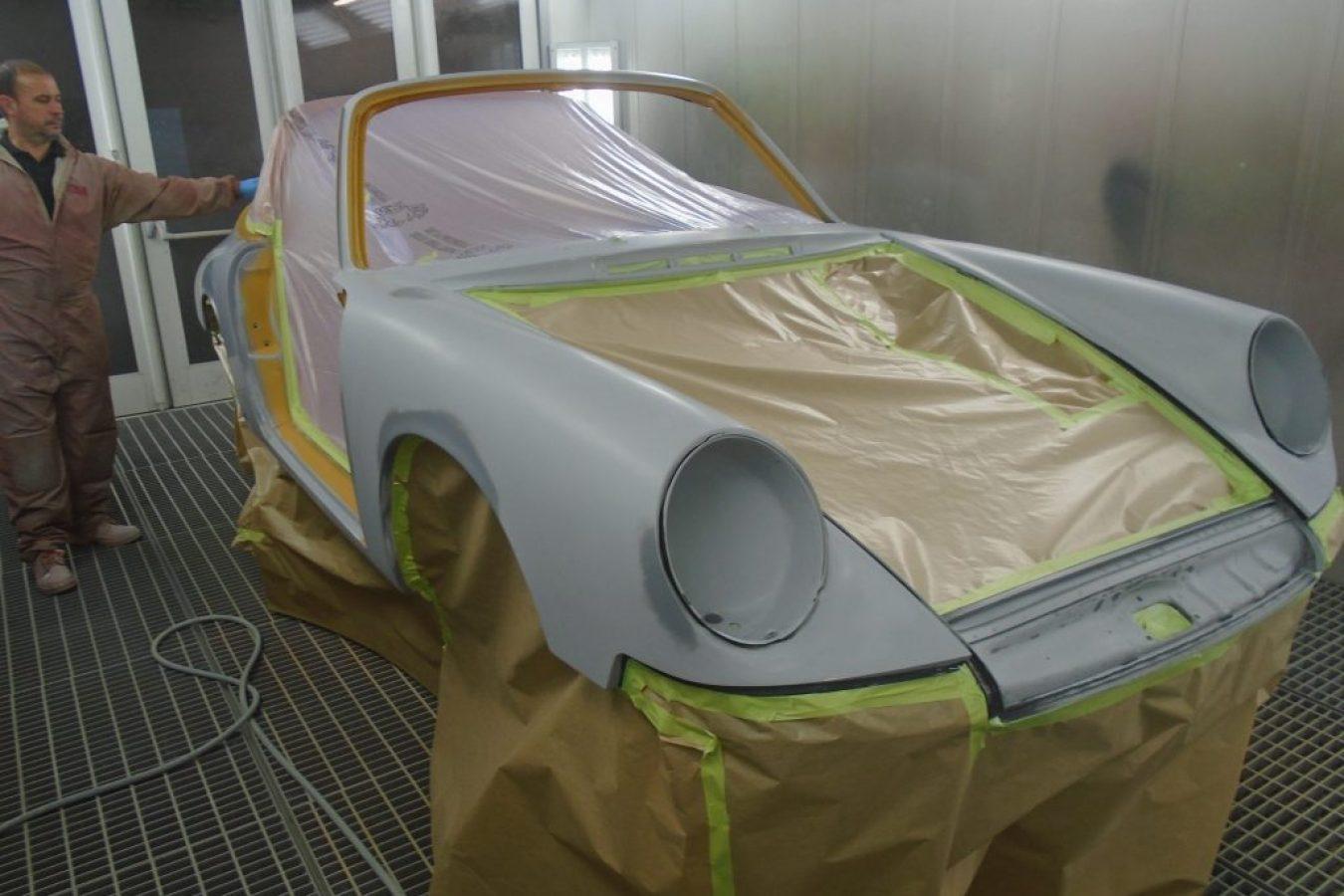 Die Porsche- und Oldtimer-Lackierung