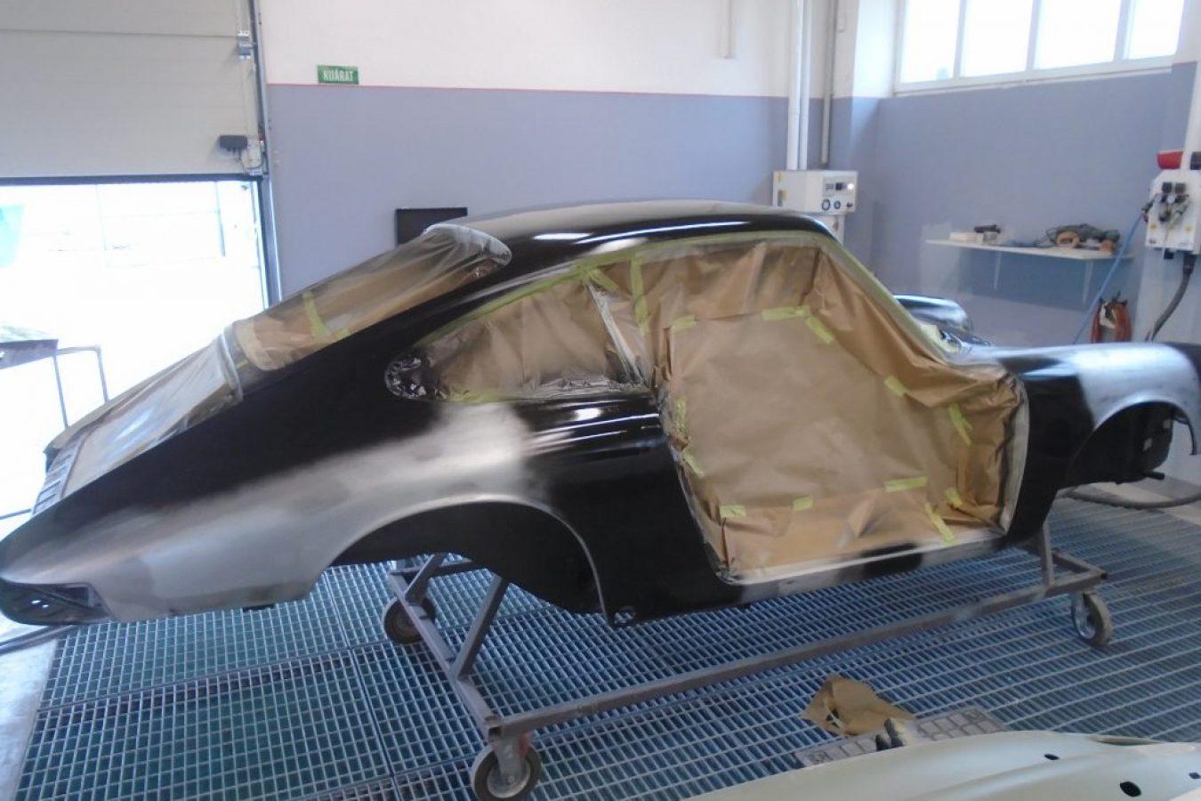 Die Restaurierung eines Porsche 911 Oldtimers 1