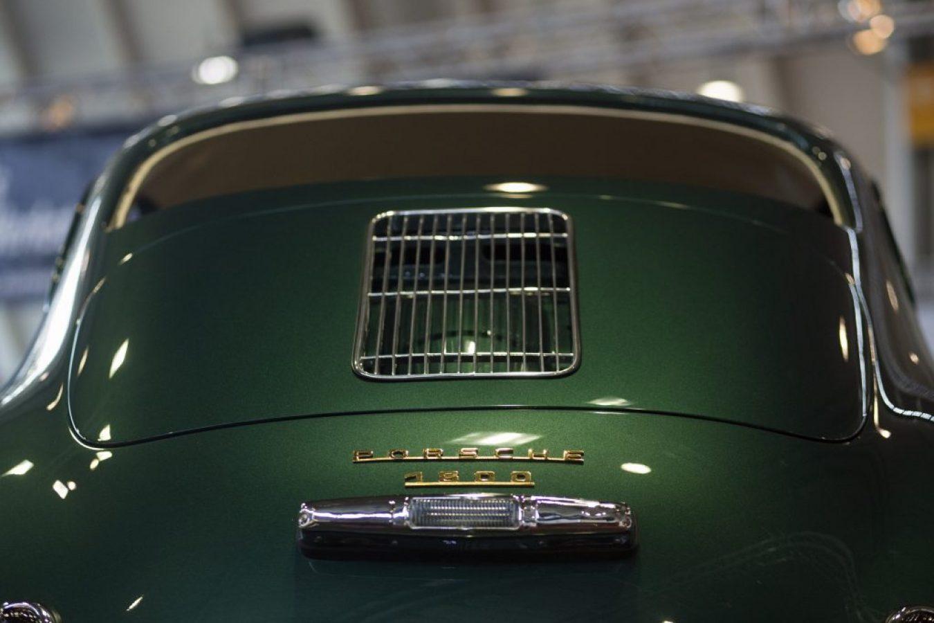 Porsche 356 – Fotografie von hinten