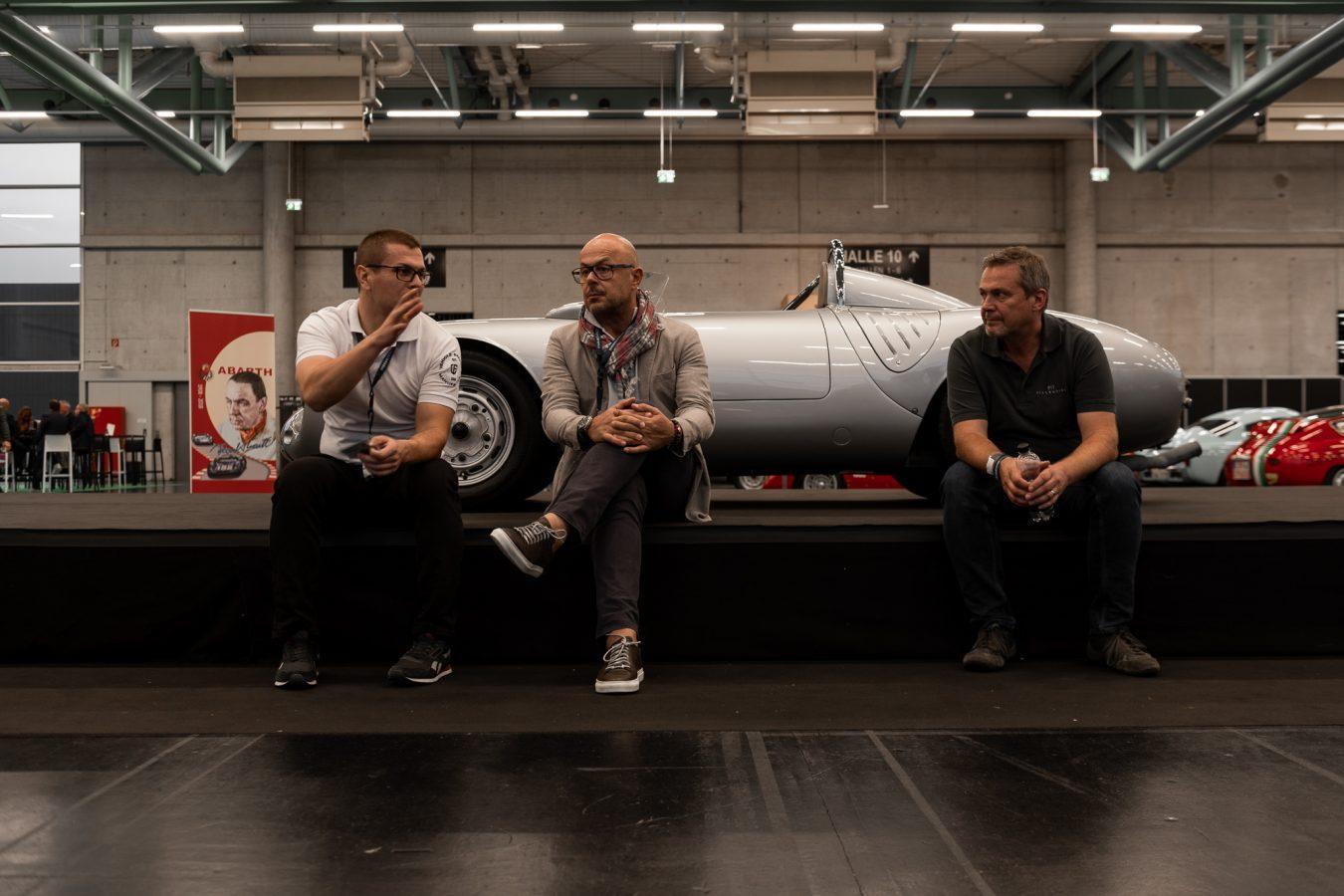 Silberner Porsche bei CLASSIC EXPO Salzburg 2018