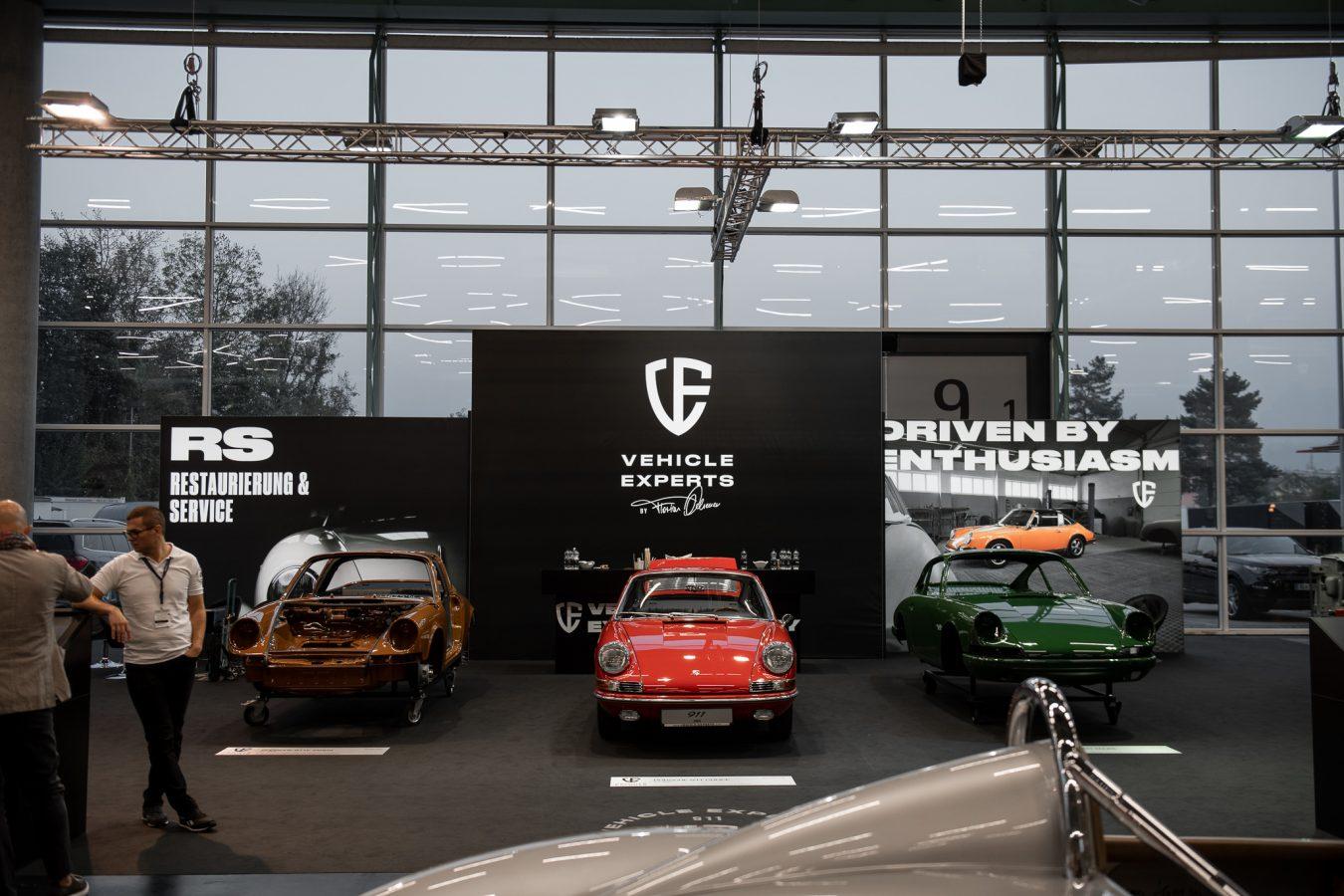 Drei Porsche Oldtimer aus der CLASSIC EXPO Salzburg 2018