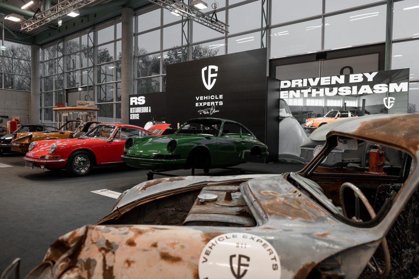 Vehicle Experts Ausstellung auf der CLASSIC EXPO Salzburg 2018