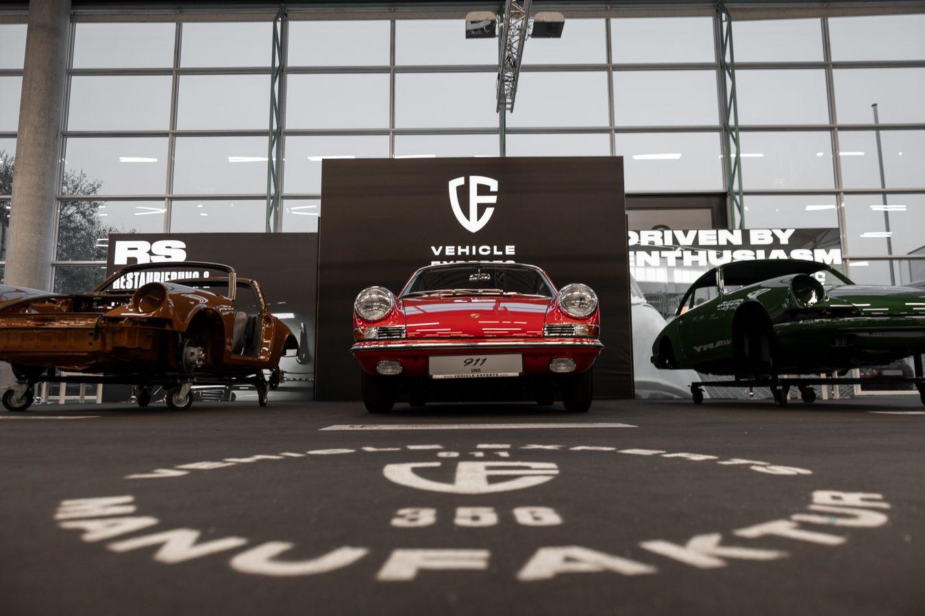 Drei Porsche bei der CLASSIC EXPO Salzburg 2018