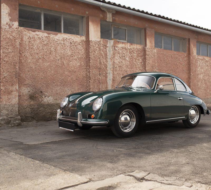 Lagogrüner Porsche 356