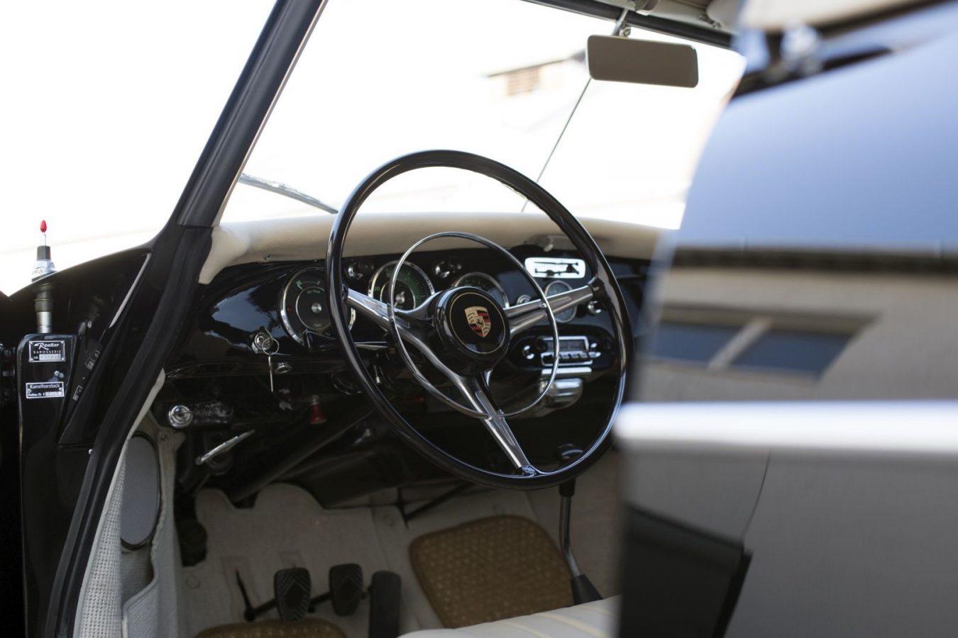 Porsche 356B Cabrio Lenkrad