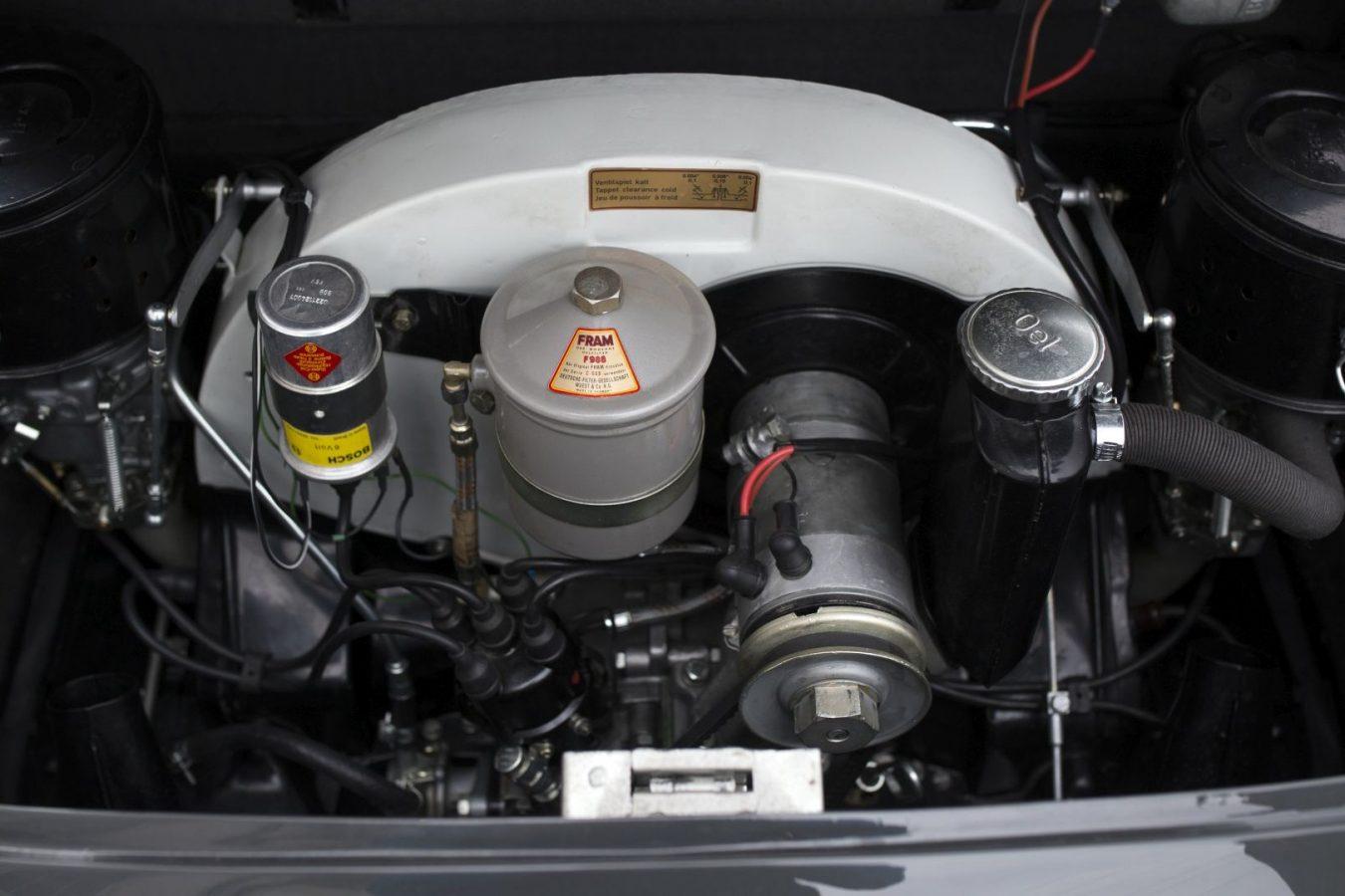 Porsche 356C Cabriolet Motorblock