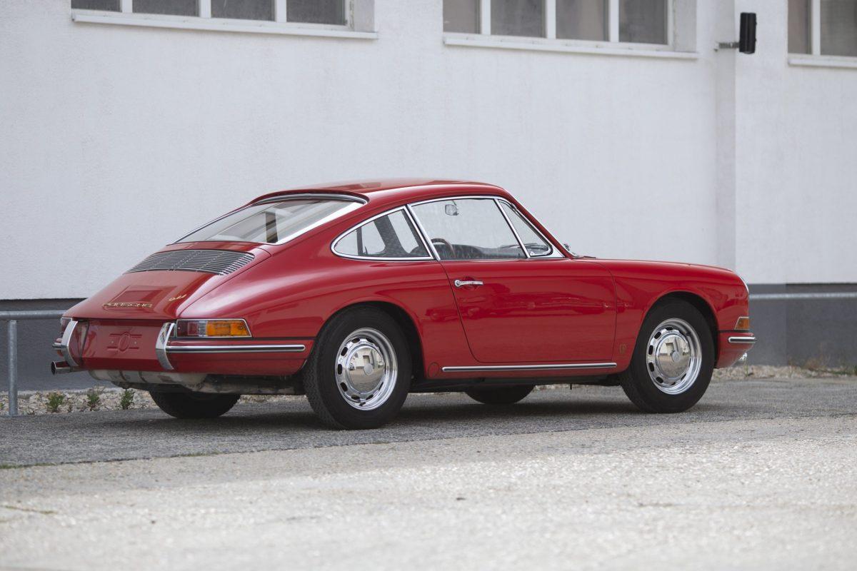 Porsche 911 Heckpartie