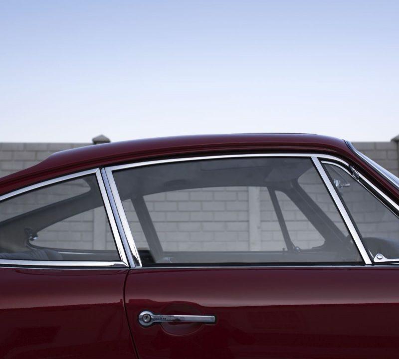 Fenster eines Porsche 911 SWB