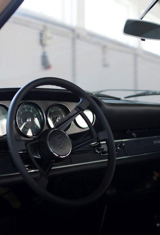 Lenkrad eines Porsche 911S SWB