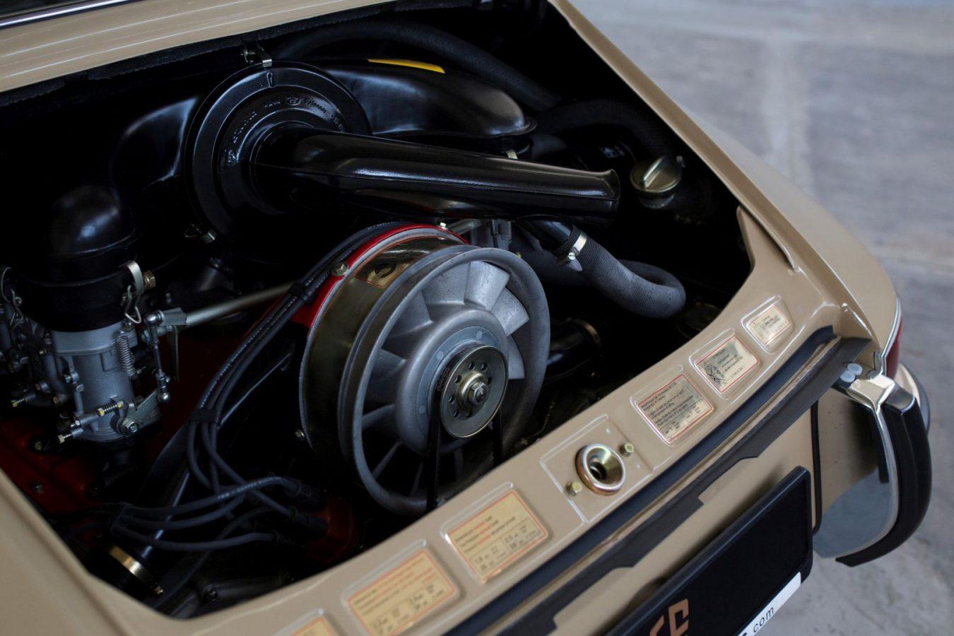 Motorblock eines Porsche 911S SWB