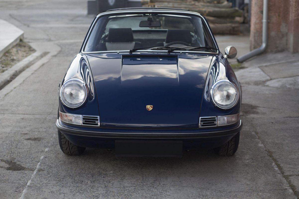 Porsche 911S Targa von vorne