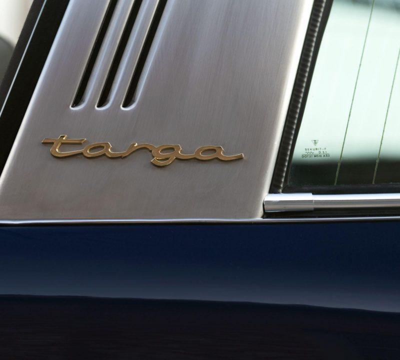 Porsche 911S Targa Schriftzug