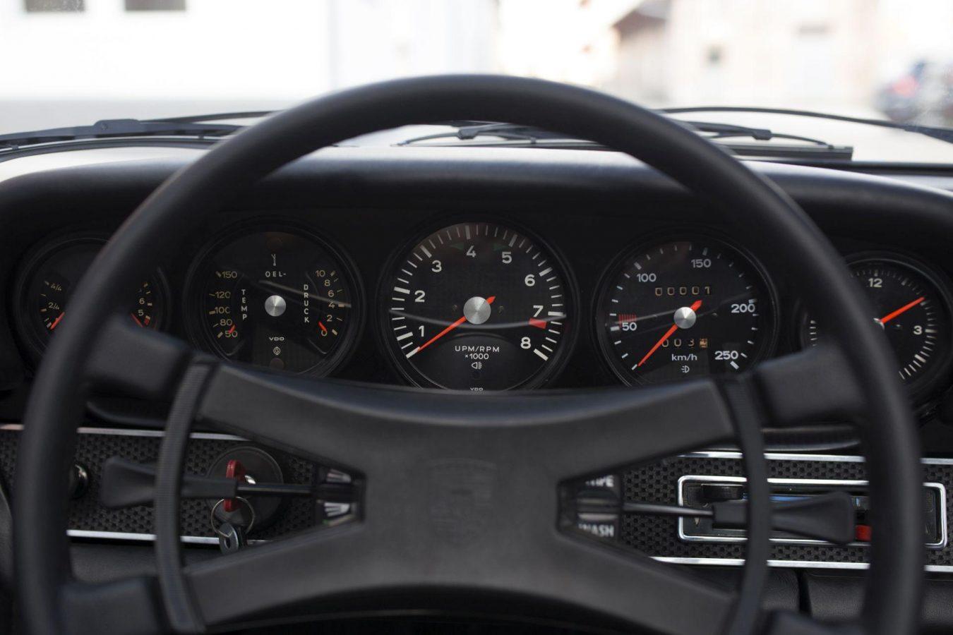 Porsche 911S Targa Lenkrad