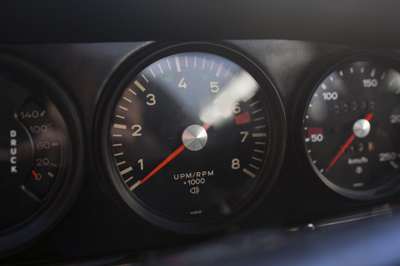Porsche 911T Ziffernblätter