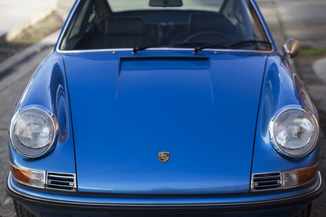 Porsche 911T Metallic Blau 11