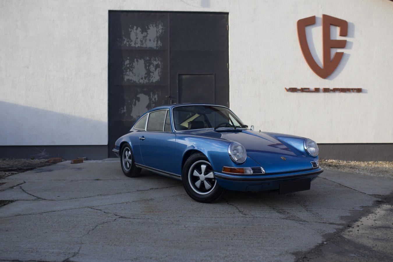 Porsche 911T Metallic Blau 14