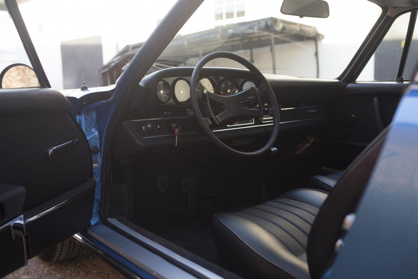 Porsche 911T Metallic Blau 1