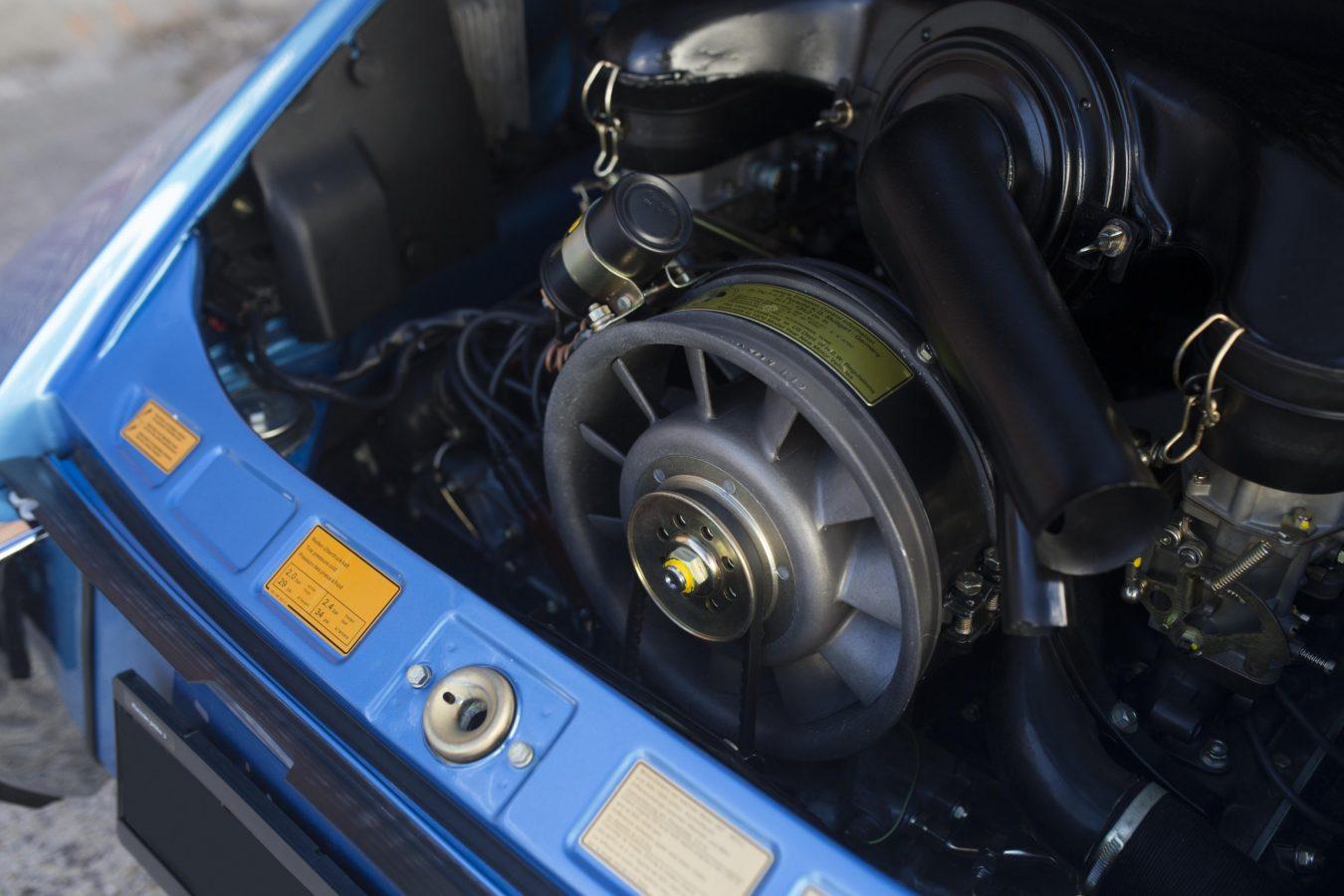 Porsche 911T Metallic Blau 6