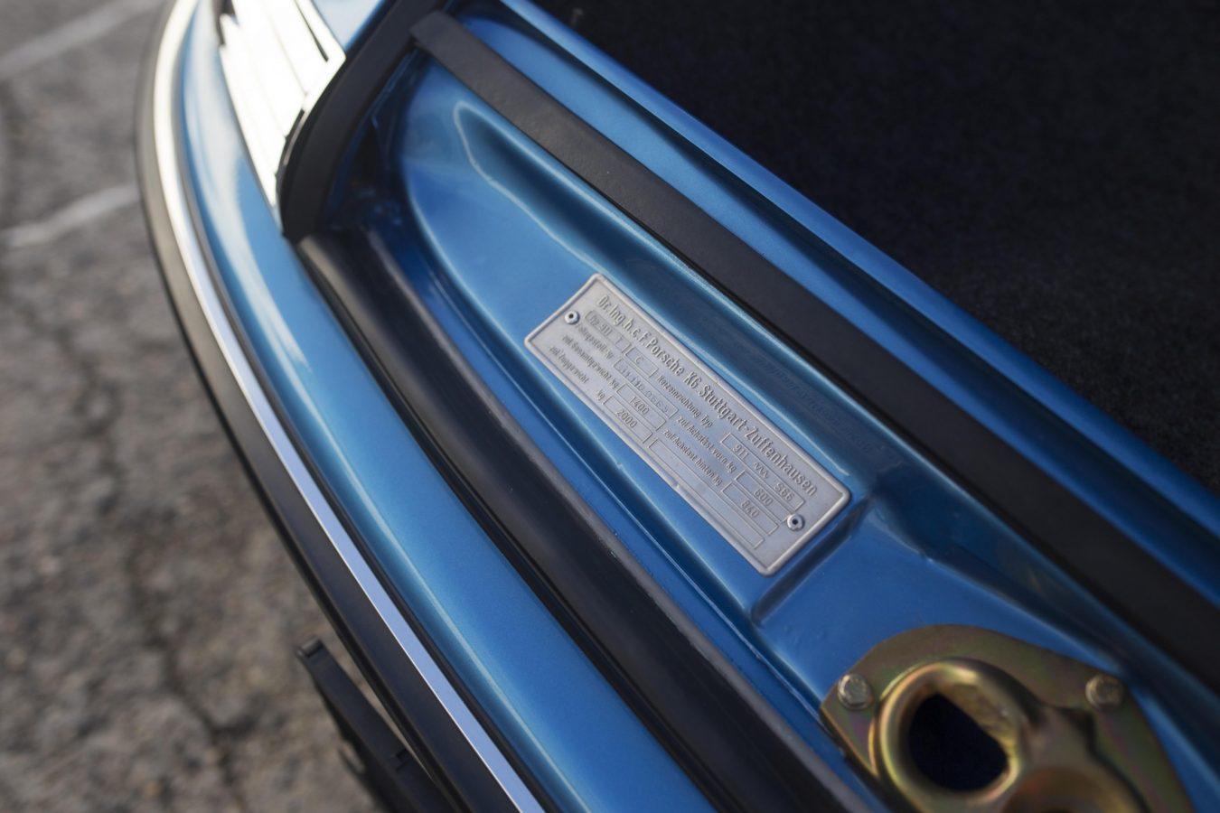 Porsche 911T Metallic Blau 7
