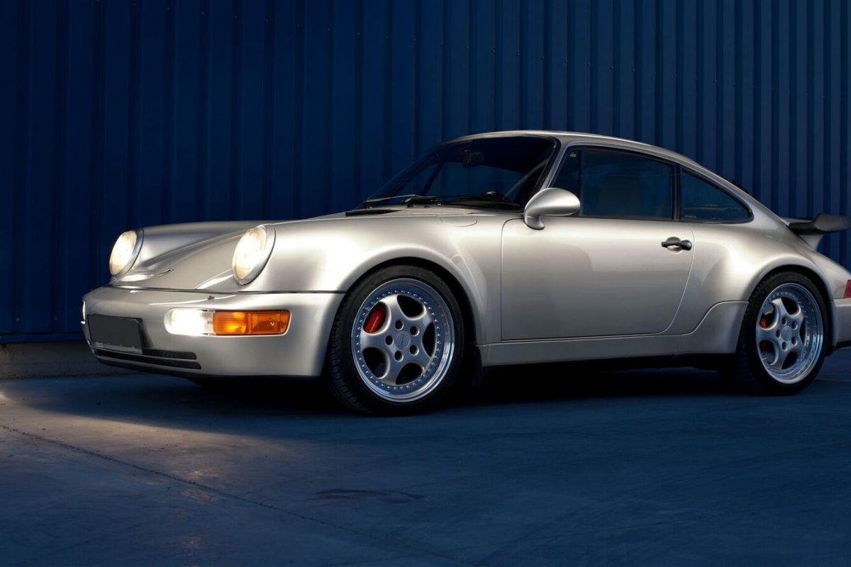 Porsche 964 3,6 Turbo nach Restaurierung
