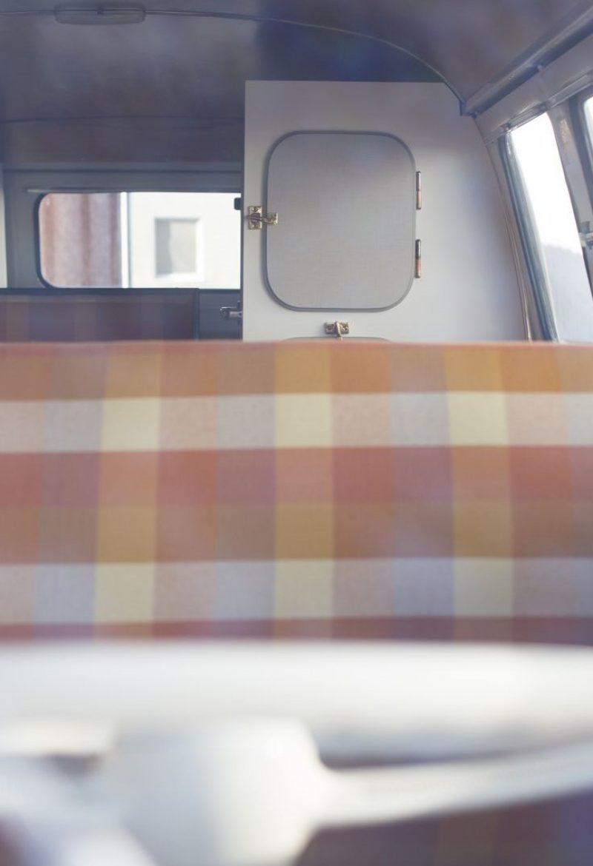 Innenraum eines Volkswagen T1 Samba