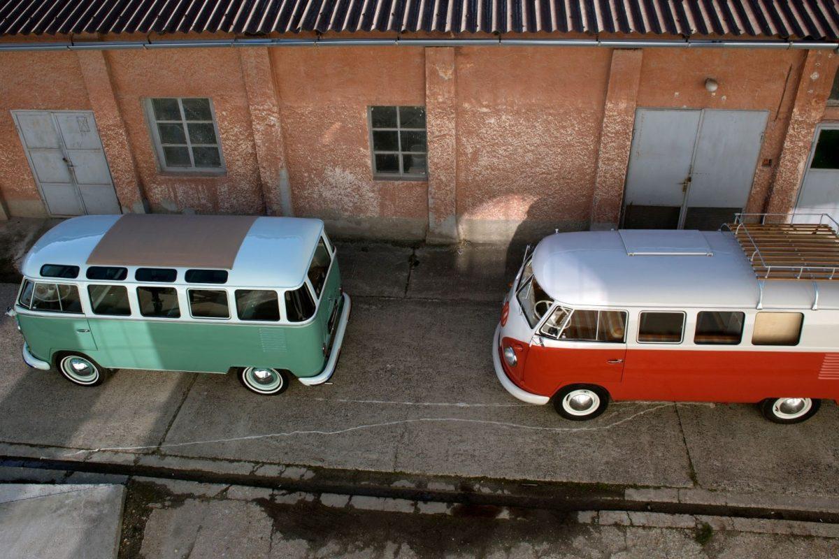 Volkswagen T1 Westfalia mit anderem Volkswagen