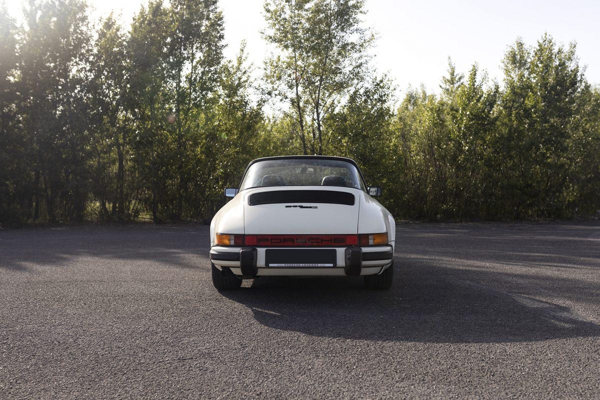Porsche 911SC in chiffon weiß