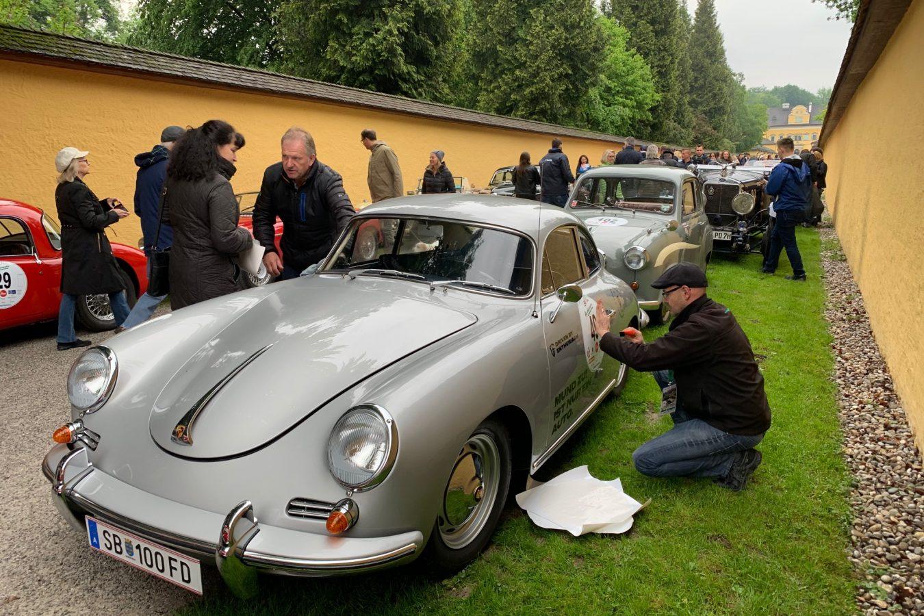 Beklebung unseres Rallye 356er