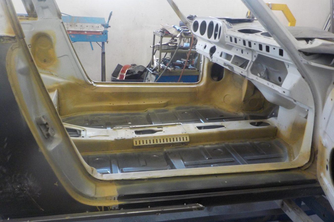 Sepiabraun 911 Targa aus 1969 12