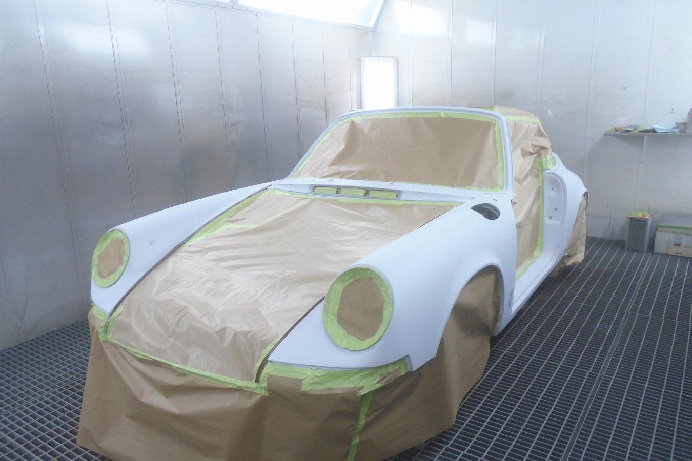 Sepiabraun 911 Targa aus 1969 30