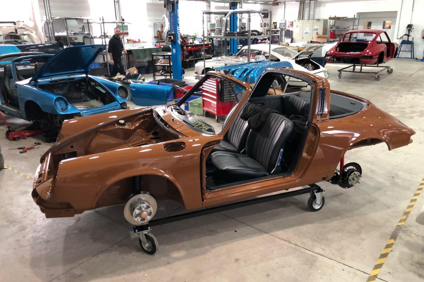 Sepiabraun 911 Targa aus 1969 36