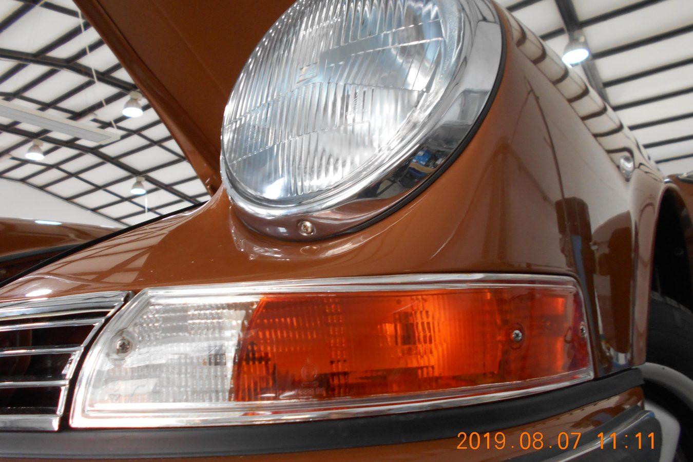 Sepiabraun 911 Targa aus 1969 49