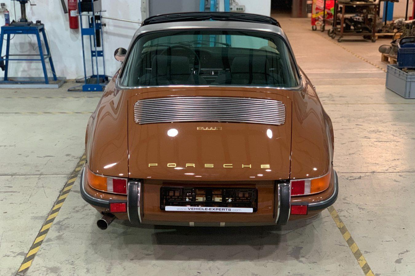Sepiabraun 911E Targa aus 1969 2