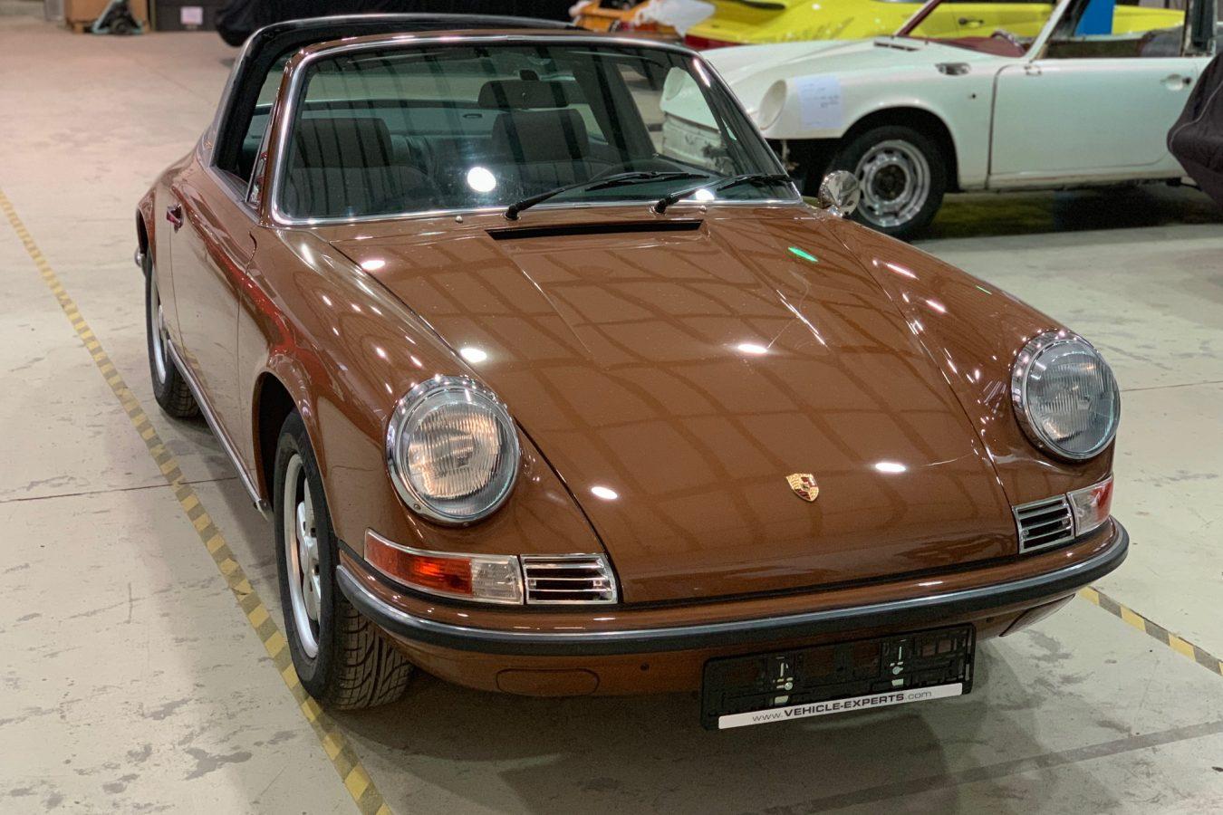 Sepiabraun 911E Targa aus 1969 6