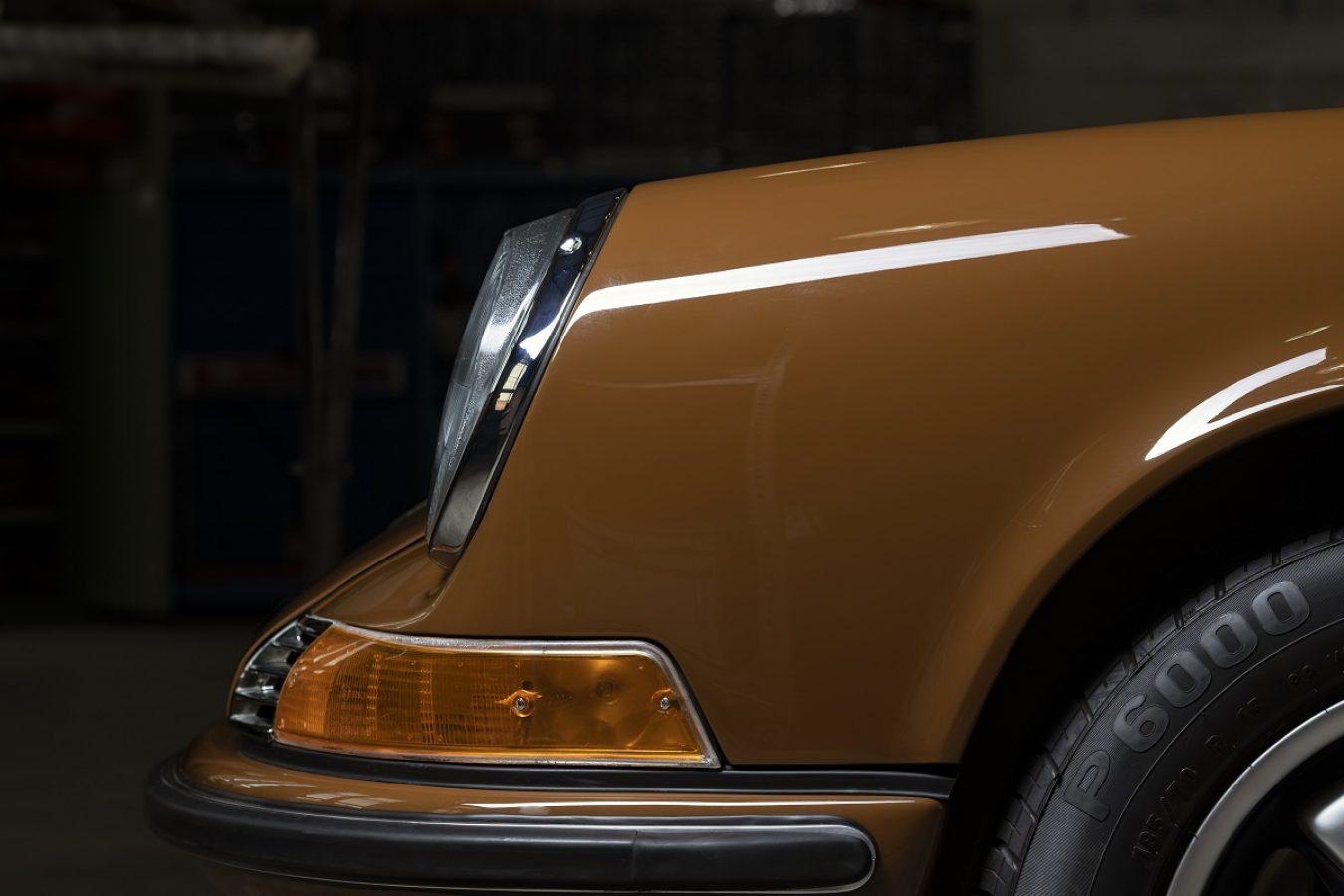 Sepiabraun 911E Targa aus dem Jahr 1969 3