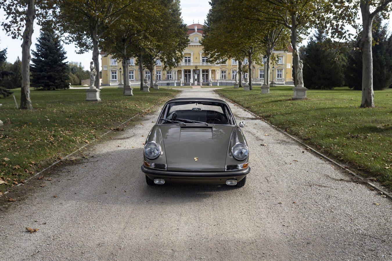 Mittelgrau-metallic 911STW aus 1967 6