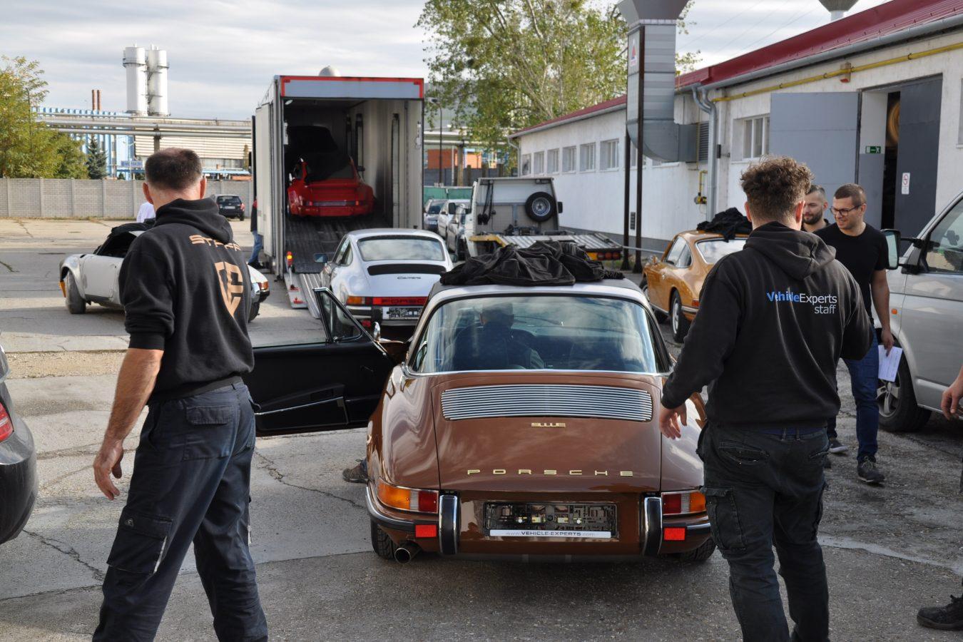 Porsche 911 SWT Aufladung