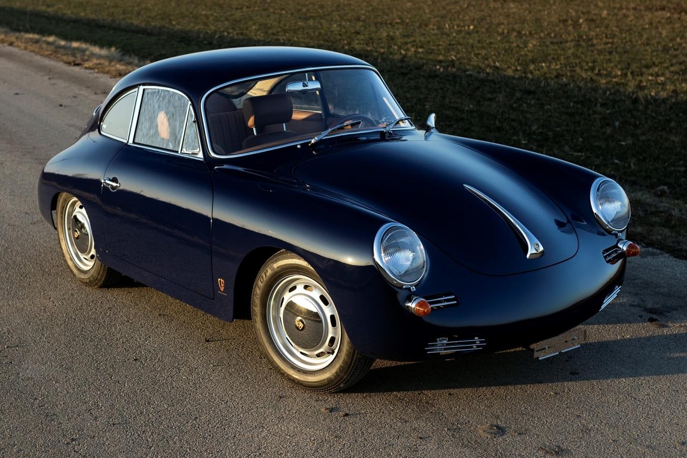 1964 Porsche 356 Outlaw Baliblau 11