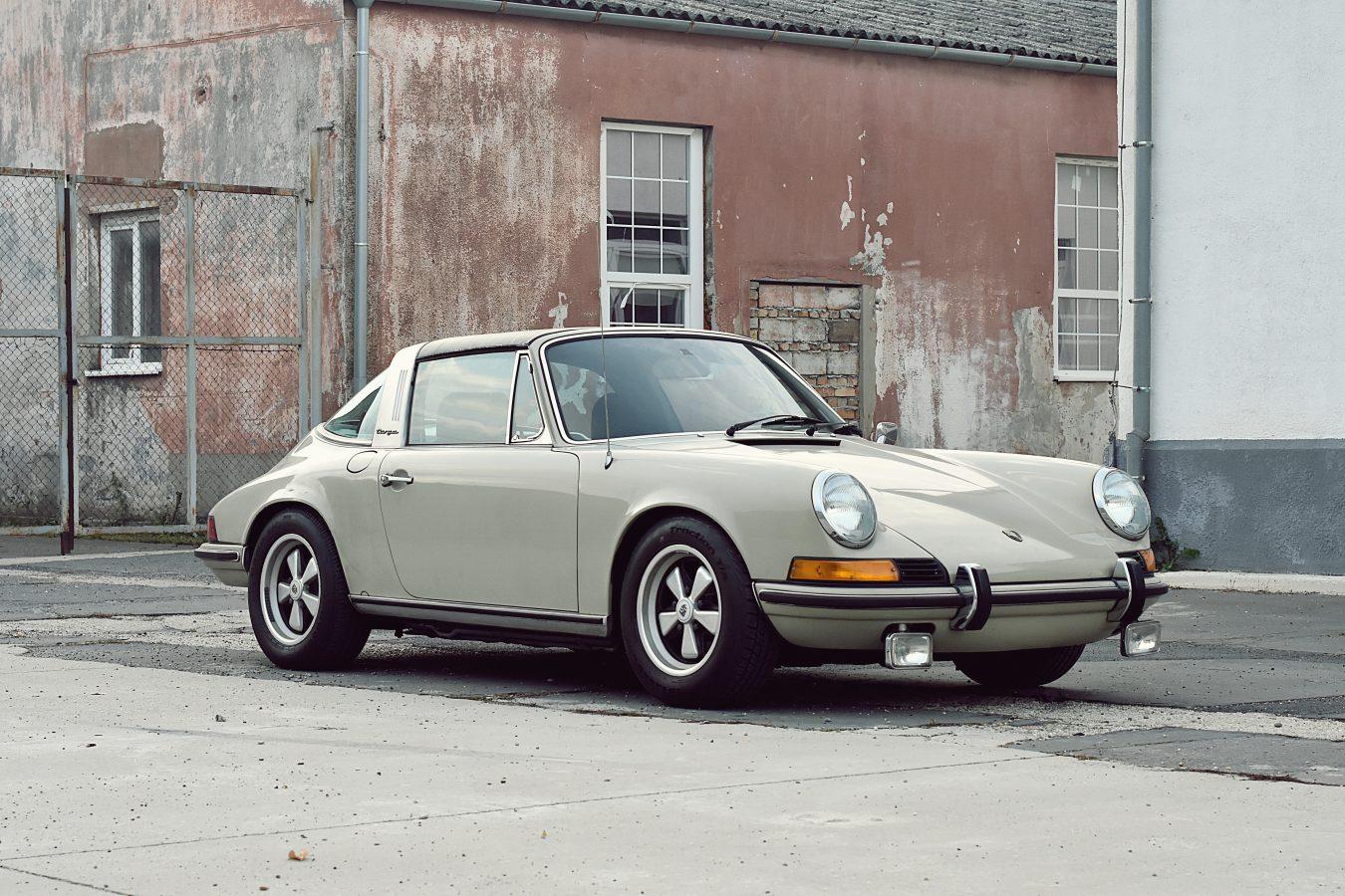 Originaler Porsche 911E Targa 7